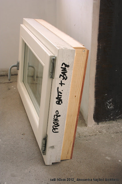infisso legno wood frame