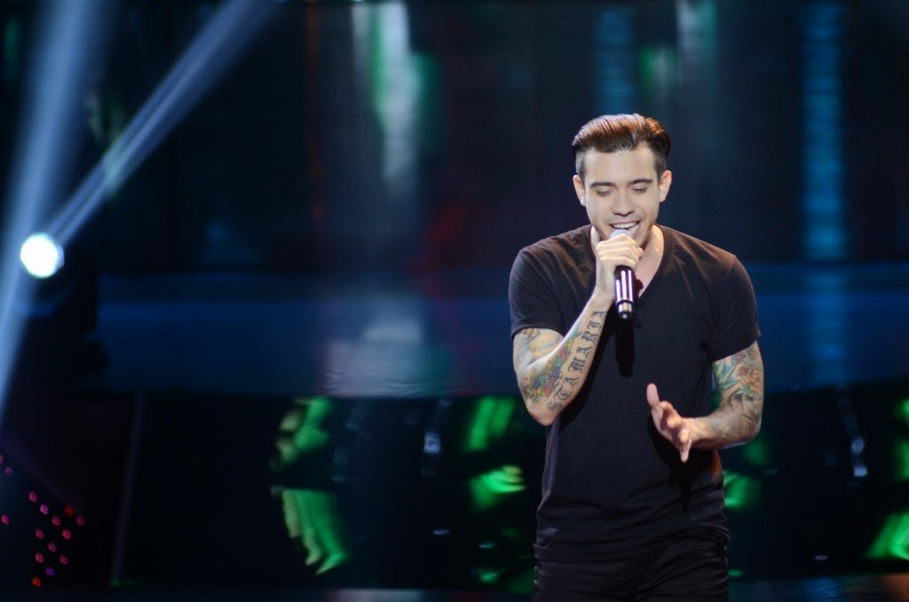 Rivermaya former vocalist Jason Fernandez auditions on 'The Voice PH'