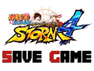 Naruto Shippuden: UNS4 Save Game