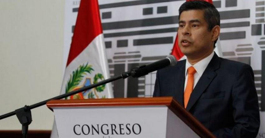 Fujimorista Luis Galarreta insiste en que ningún ministro puede quedarse en el nuevo Gabinete