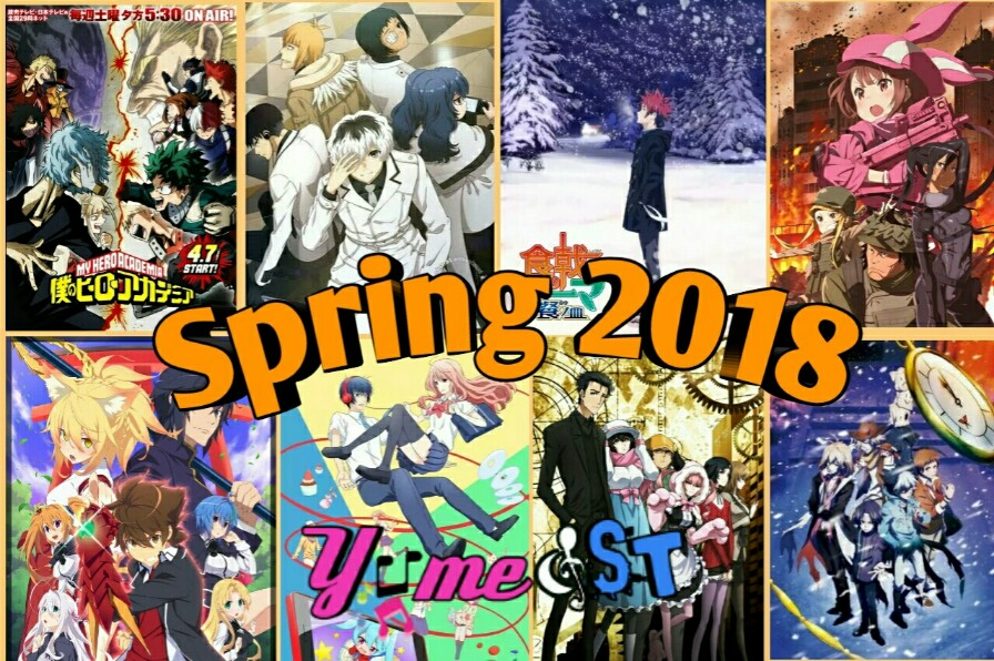 Upcoming OST Anime Spring 2018 Release Date