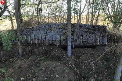 Второй кайзеровский бункер у деревни Задворье. Руины