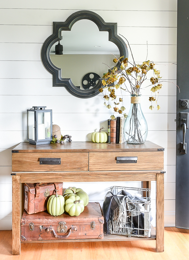 Subtle and neutral fall home tour