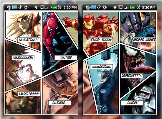 Marvel Vs Capcom android wallpaper