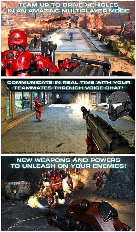 N.O.V.A 3 Freedom Edition Full mega mod apk