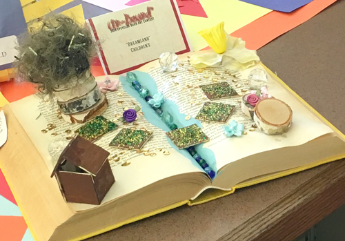 Inspiring Ideas With Artist Jeanne Winters Christian Altered Book Art