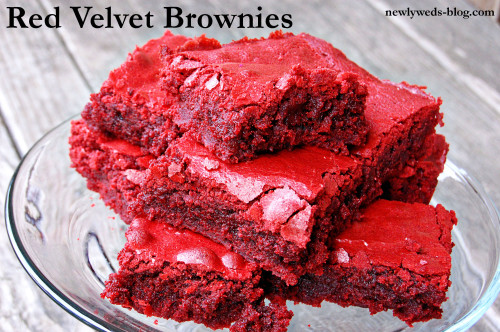 The Best Red Velvet Brownies