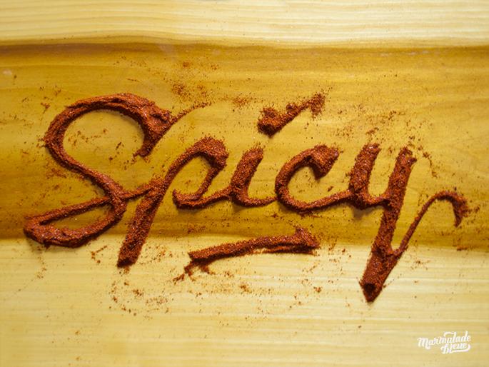 tipografia organica com alimentos 09 - Tipografia Orgânica com Alimentos