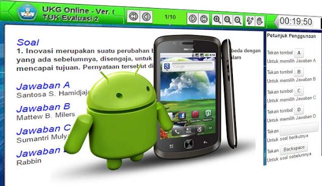 Aplikasi Simulasi UKG TK/SD/SMP Berbasis Android Terbaru