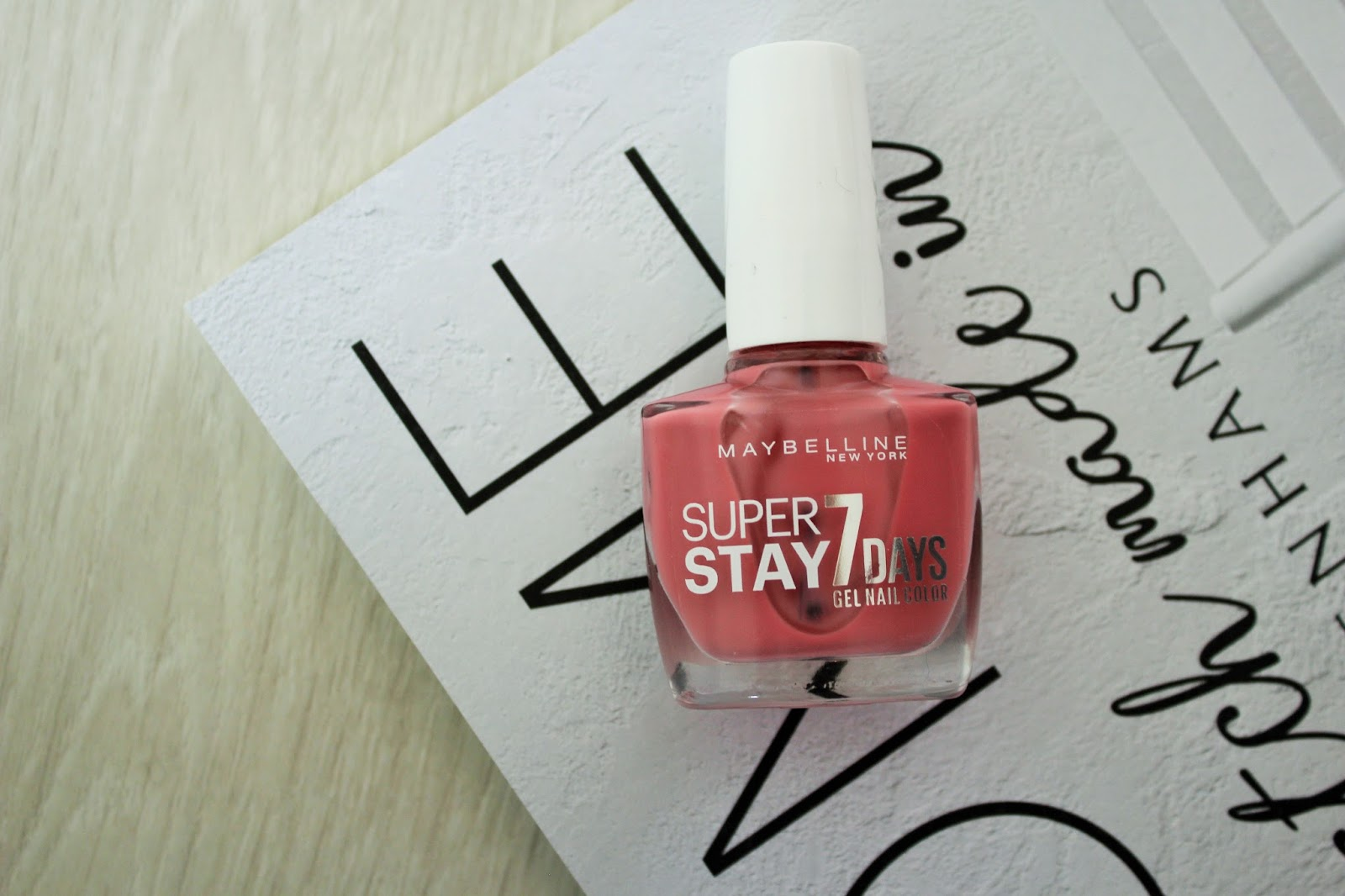 August Favourites 8 - Maybelline Super Stay 7 Days Gel Nail Color in Nude Rose