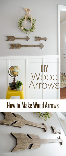 How to Make Wood Arrows: DIY Woodworking Tutorial