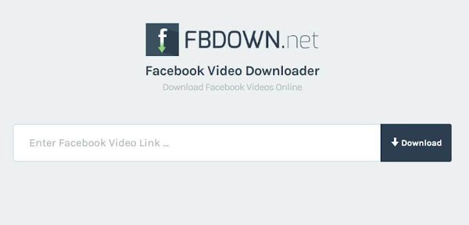 FBDOWN - Κατεβάστε βίντεο από το Facebook