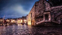City Architecture. Medieval. Honfleur