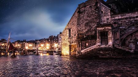 City Architecture, Medieval, Honfleur UHD