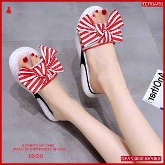 DFAN3030S166 Sepatu Us73 Sandal Sol Wanita Jadi Flip BMGShop
