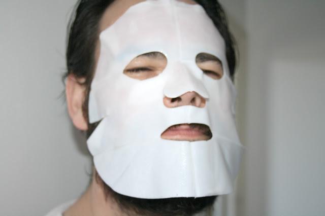 Bio-Cellulose Glacial Snow Algae & Hyaluronic Acid Facial Beauty Mask