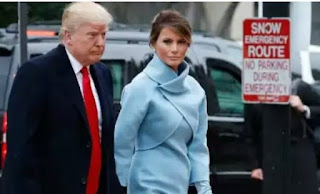 melania trump looking gorgeous in ralph lauren suit