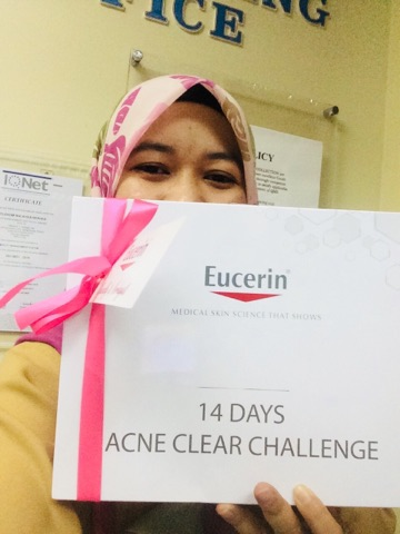 EUCERIN PROACNE 14 DAYS ACNE CLEAR CHALLENGE, Eucerin® ProACNE Solution A.I. Clearing Treatment, Cabaran Bebas-Jerawat  Eucerin® 14 Hari , bebas jerawat, rawat jerawat, produk paling berkesan untuk jerawat, produk paling baik untuk merawat jerawat, jerawat, acne, Eucerin. eucerin malaysia, kesan penggunaan eucerin, produk eucerin untuk merawat jerawat