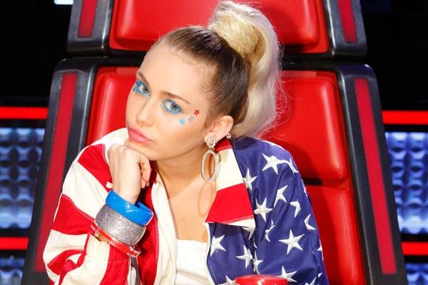 Miley Cyrus elevó la audiencia de The Voice