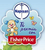 Immagine Napisan ti premia con un buono sconto Fisher Price o un CD omaggio subito