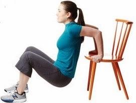 Кофички на пейка - Тренировка за жени в домашни условия