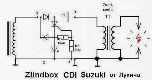 SOLUSI BATTERY: CDI Motor Tanpa Pulser Project Part 1