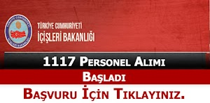 İçişleri Bakanlığı 1117 Sözleşmeli Büro Personeli Alımı Başladı