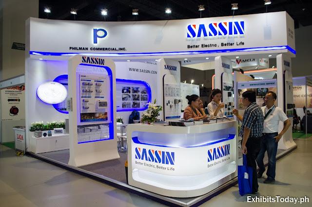 Philman Commercial / Sassin trade show display