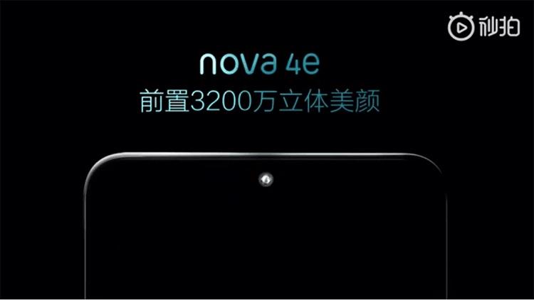 Huawei Teases Nova 4e