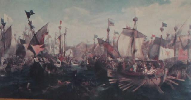 Αποτέλεσμα εικόνας για ναυμαχία του ακτίου