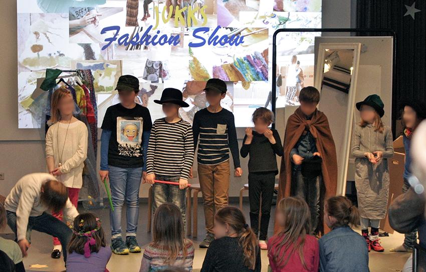 Kinder bei der vhs Fashion Show