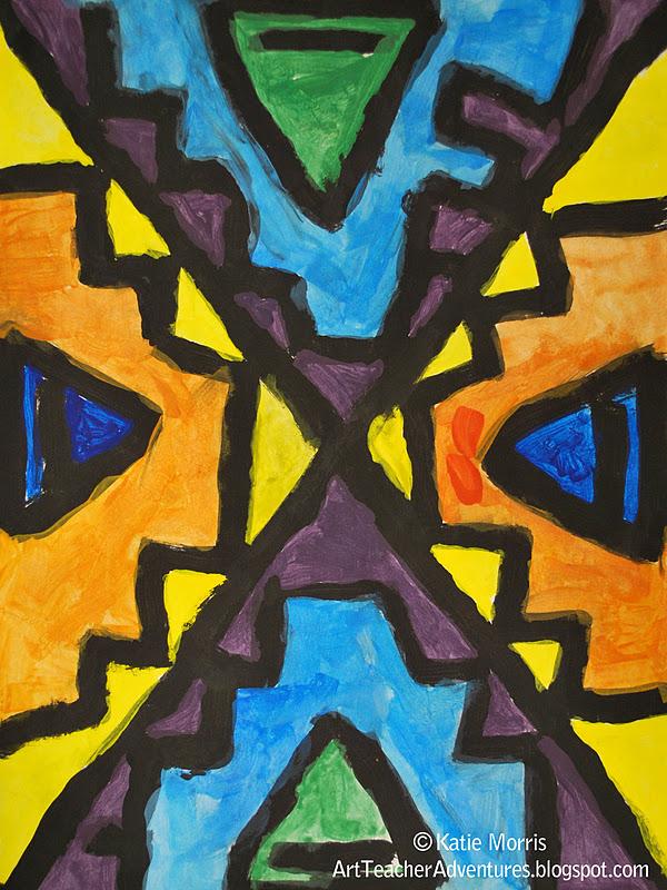 Adventures Of An Art Teacher 5th Grade Ndebele Inspired