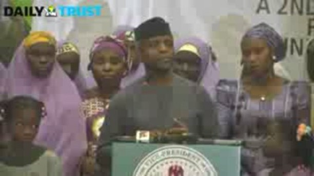 Nigerians can now own houses with N30,000 - Yemi Osinbajo