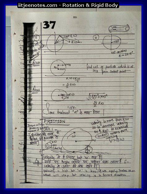 rotational notes physics7