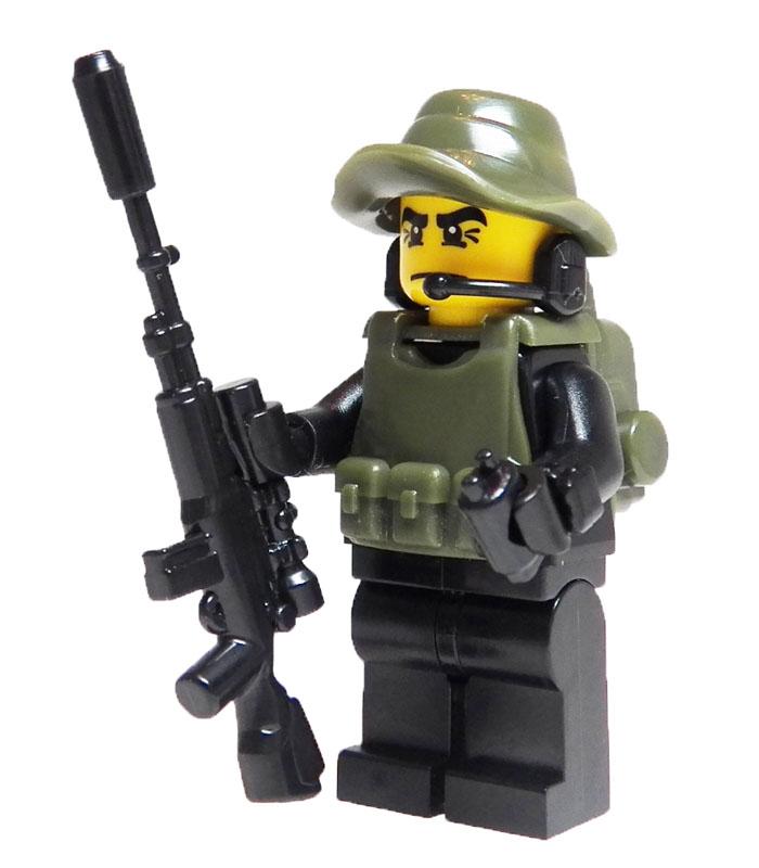 Lego Swat Bracing Brick Weaponstop Motion