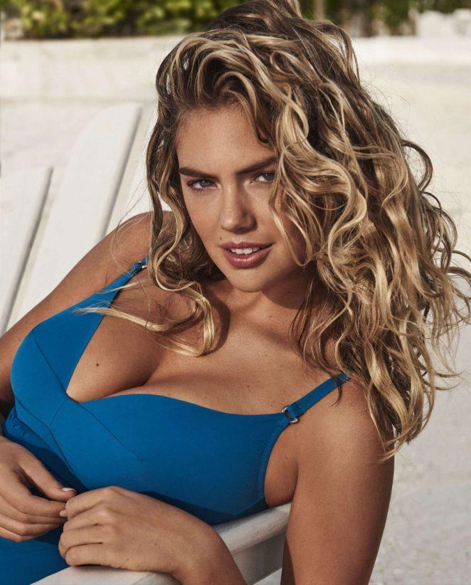 Американская модель Кейт Аптон в рекламе новой коллекции купальников