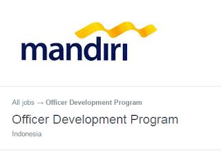 Lowongan Kerja BUMN Bank Terbaru Bank Mandiri (Persero)