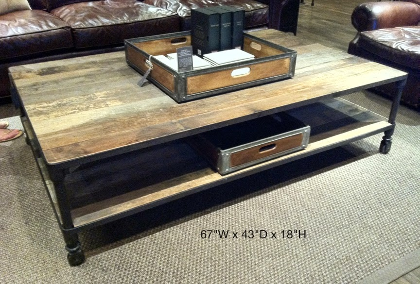 RH dutch industrial coffee table