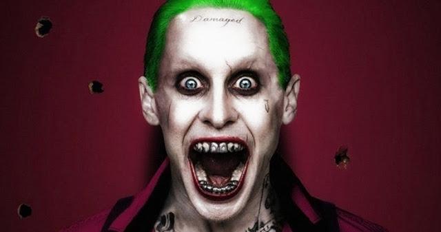 El Joker y su curioso aspecto, interpretado por Jared Leto