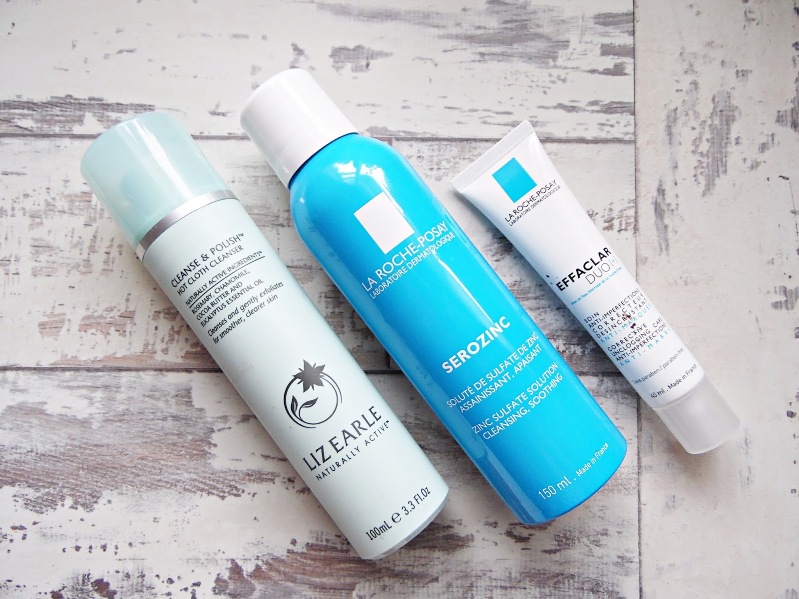 Top Three Skincare Products