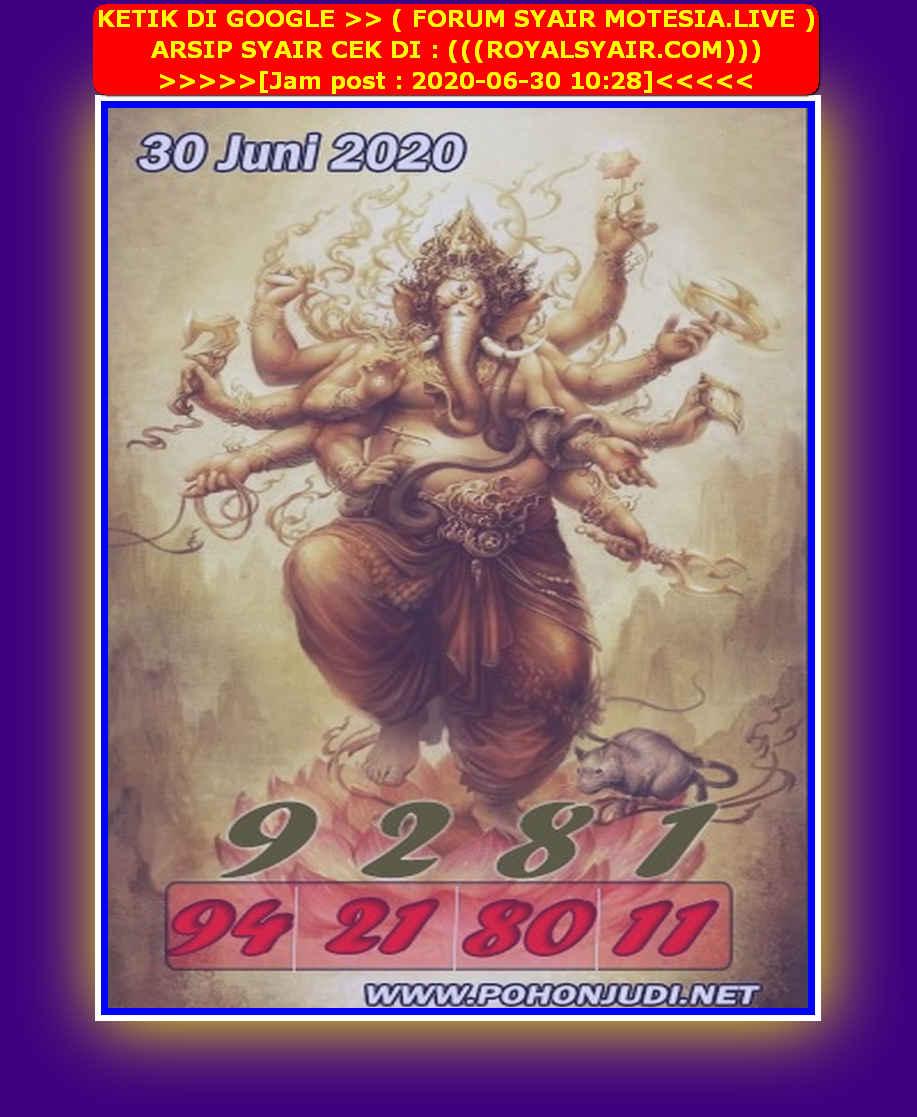 Kode syair Sydney Selasa 30 Juni 2020 103