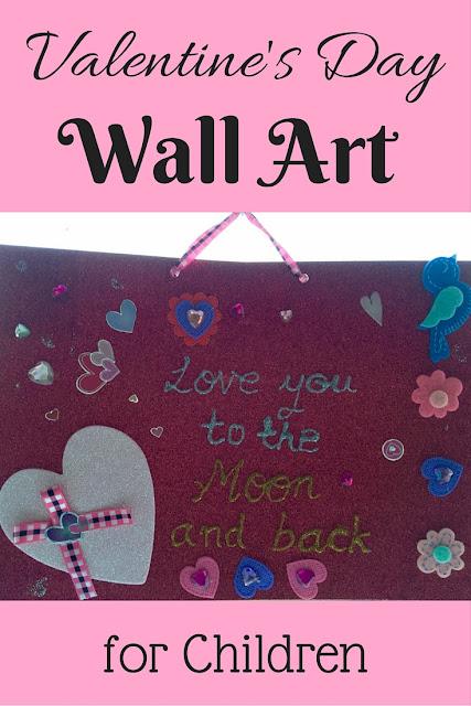 Valentine's Day Wall Art for Children
