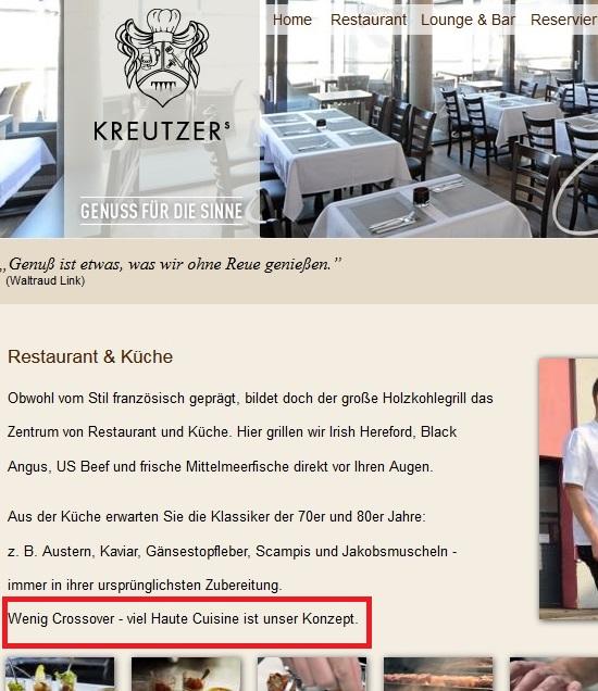 Nun Ist Der Begriff Der Haute Cuisine Ein Ziemlich Klar Umrissener Begriff  In Der Welt Der Kulinarik. Wikipedia Definiert Ihn Wie Folgt: