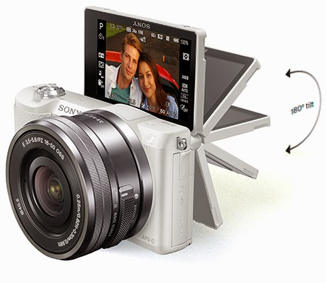 Sony Alpha 5100, HDR feature, selfie camera, Full HD Video, NFC, Wi-Fi, new mirrorless camera,