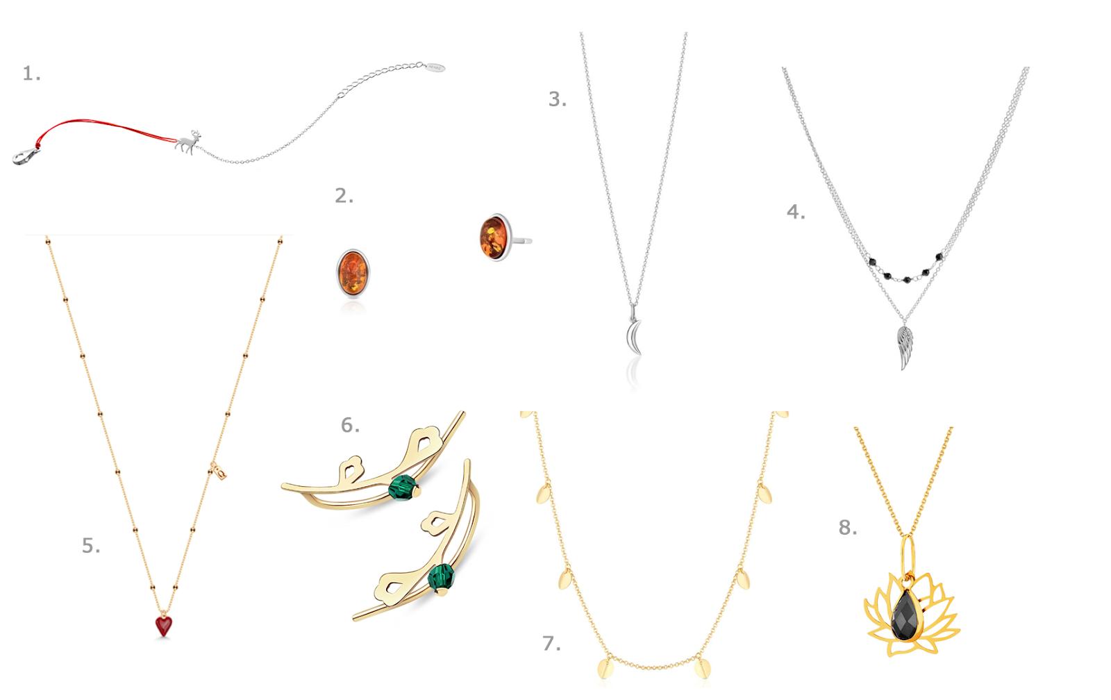 biżuteria na dzień kobiet Prezenty na dzień kobiet w wersji last minute - prezentownik na 8 marca
