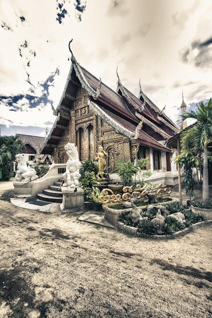 Tempio Wat Mahawan-Chiang Mai