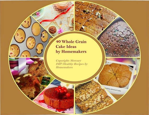 40 whole grain cakes cookbook- FREE Download