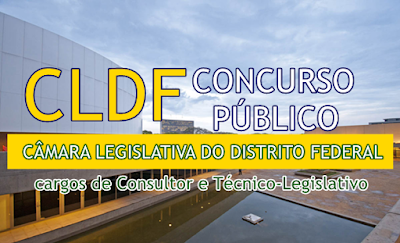 Apostila Concurso Câmara Legislativa DF técnico legislativo CLDF 2017