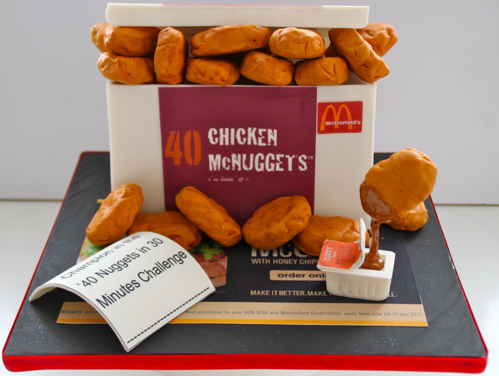 Celebrate With Cake Mcdonald S Chicken Mcnuggets Cake