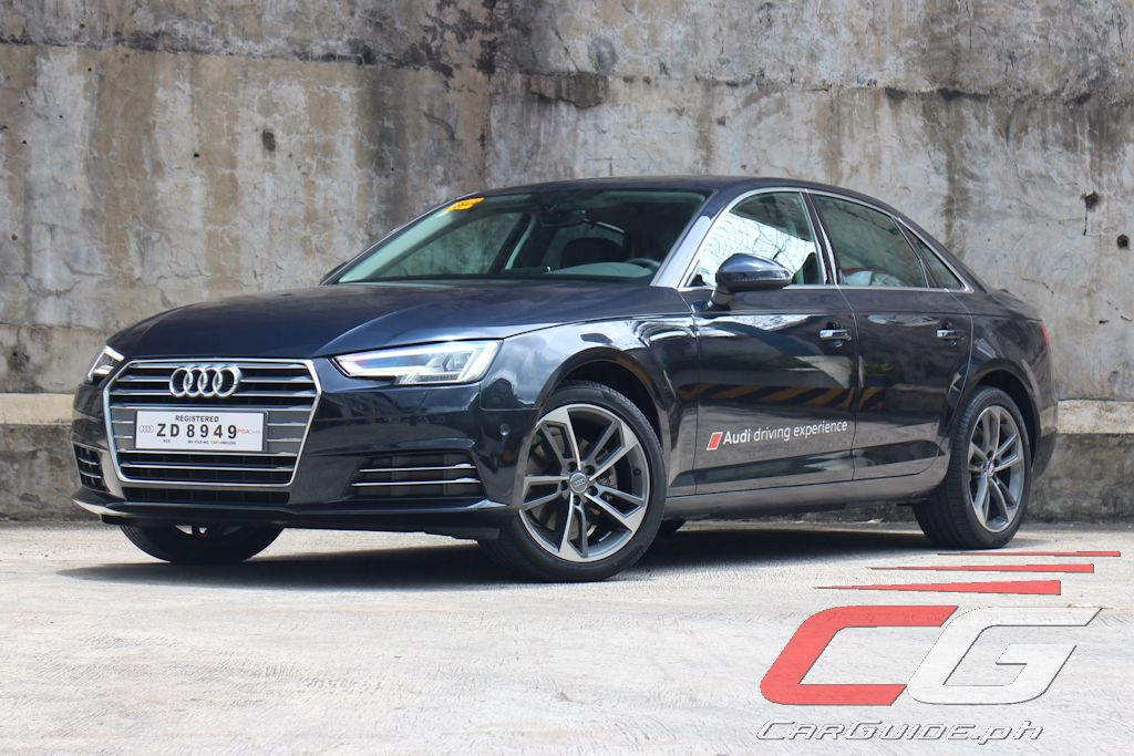 review 2017 audi a4 2 0 tdi philippine car news car reviews automotive features and new. Black Bedroom Furniture Sets. Home Design Ideas